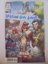 Return of Wolverine #1 Nauck Party Variant Marvel Vf/Nm Comics Book