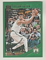 2018-19 Panini Donruss GREEN FLOOD PARALLEL #76 JAYSON TATUM Boston Celtics