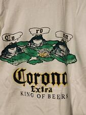 vintage corona Beer frog tee