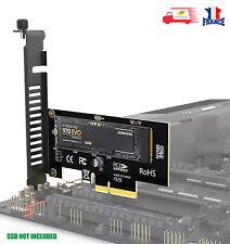 Carte Express M Key M.2 NVMe SSD vers PCIE 3.0 X4, SSD 2280 2260 2242 2230