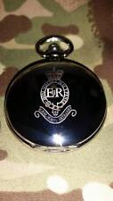 RHA Pocket watch with Cypher, Personalised Number RankName Royal Horse Artillery