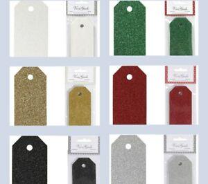 Gift Tags by Vivi Garde Design - Glitter Cards Premium Qualty