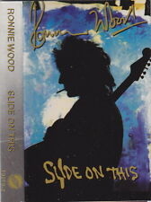 RON WOOD - Slide on This - Rolling Stones - cassette Ronnie Keith Richards