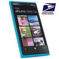 USA Stock! Nokia Lumia 920 AT&T Unlocked 4G LTE 32GB 8.7MP Windows 8 New Blue