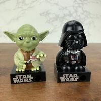 "2013 Official Disney Star Wars Darth Vader & Yoda 4.5"" Talking Candy Dispensers"