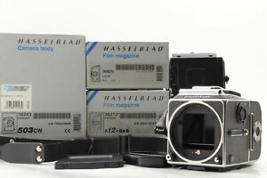 [MINT Box ISO3200] Hasselblad 503CW Acute D + A12 A24 IV Film Back from JAPAN