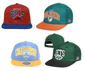 Mitchell & Ness Men's NFL ND11Z Adjustable Snapback Hat