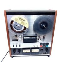 Vintage Teac A-4300SX Auto Reverse Reel to Reel 1970's Tape Player No Dust Cover