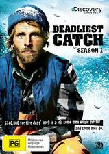 Deadliest Catch : Season 1 (DVD, 2006, 3-Disc Set) New Region 4