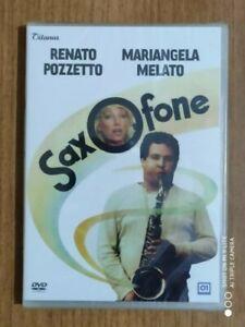 Dvd   SAXOFONE  Renato Pozzetto   Mariangela Melato   NUOVO!!!