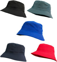 Men Women Adults Bucket Hat Summer Fishing Fisher Beach Festival Sun Cap UK