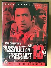 ASSAULT ON PRECINCT 13 | 1976 John Carpenter Thriller Classic | Rare UK DVD