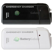 USB Emergency Portable 2AA Battery Charger for Apple iPhone 8/8+/X/XS/XS Max/XR