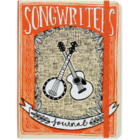 Songwriter's Journal, Hardcover for music and lyric writing, write 72 songs