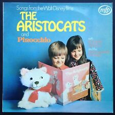 Songs from Walt Disney's ARISTOCATS And PINOCCHIO LP 1971 Ron Hilton Mike Sammes