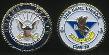 USS Carl Vinson CVN 70 Enlisted Challenge Coin