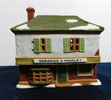 """Dept 56 """"Scrogge And Marley Counting House"""".Dickens' Village Series.#6500-5"""