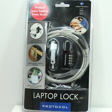 PROTOCOL LAPTOP LOCK Secure Laptop NIP - FREE SHIPPING