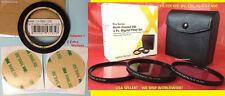TO CAMERA FUJI FINEPIX SL1000 S8200 RING ADAPTER +FILTER KIT: UV+ CPL+ FLD 58mm