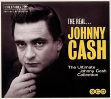 Johnny Cash-Real Johnny Cash/The Ultimate Johnny Cash, 3cd = 88 TRACKS!!!