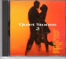 (DM218) Quiet Storms 2, 12 tracks various artists - 1996 CD