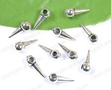 NP1992 lots 20pcs Tibetan Silver Lot Basketball Wives Earring Spikes Beads 13MM