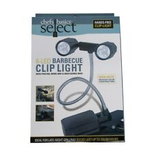Adjustable Bright Led Bbq Grill Chef Lamp Outdoor Clamp Clip Mount Cooking Light