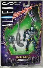 ALIENS Hive Wars Integer 3 figure with Spring Loaded Gun MOC 57005 Kenner 1998