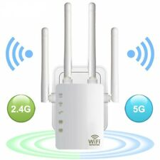 5Ghz WiFi Repeater Wireless Extender 1200Mbps Long Range Router Signal Booster