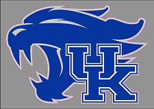 """University of Kentucky UK Wildcats 6"""" Premium Vinyl Decal Bumper Sticker NCAA"""