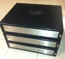 Lot (3) POS Retail Cash Drawer Register  MMF ECD 200, 24VDC RJ
