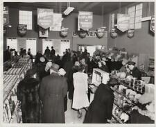 """Montreal Quebec Mammoth Market Grocery Store 2545 Masson Street 8X10"""" Photo"""