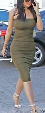 WOLFORD FATAL Robe en Genévrier-Moulante Tube Bustier Stretch Jupe Femme Taille M
