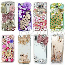 For LG Stylo 2 3 4 5 Bling handmade Case Luxury Glitter stones back phone Cover