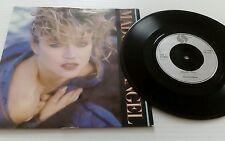 "Madonna Angel - Glossy Sleeve + Paper Label 7"" vinyl single record UK W8881"