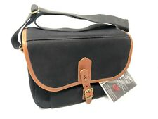Fogg F-Bee Bag - Black with Tan - Brand New With Tags