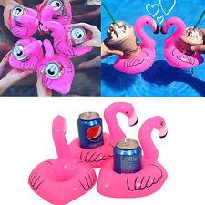 Inflable Rosa Flamingo Flotante bebida puede titular jacuzzi Piscina Baño