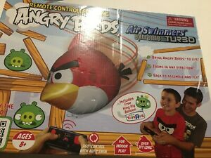 Wowstuff Angry Birds Remote Controlled Flying Air Swimmers Extreme Turbo