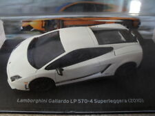 voiture miniature LAMBORGHINI GALLARDO LP 570-4 SUPERLEGGERA 1/43