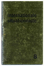 Internationale situationniste n°8  Janvier 1963 TBE