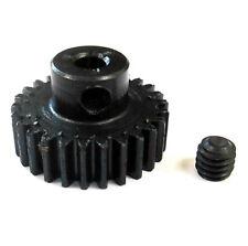 L626 Module 0.6 0.6M 23T 23 Teeth Tooth Motor Pinion Gear Black 540 3.17mm Bore