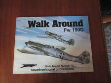 SQUADRON SIGNAL FOCKE WULF FW 190 D WALK AROUND