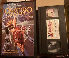 VHS QUATTRO ZAMPE A SAN FRANCISCO di David R. Ellis [WALT DISNEY]