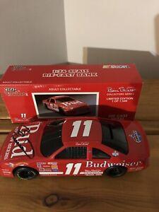 1993 Bill Elliott Signed #11 Budweiser 1:24 Nascar Racing Champions Diecast Bank