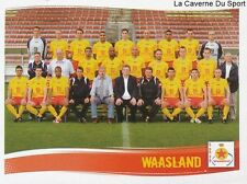 556 TEAM EQUIPE SQUADRA BELGIQUE WAASLAND-BEVEREN STICKER FOOTBALL 2009 PANINI