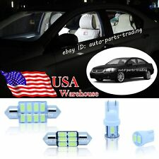 10-pc Bright White LED Lights Interior Package Kit For Mitsubishi Galant 98-12