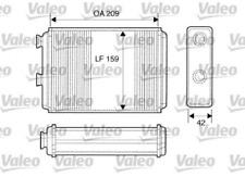 Wärmetauscher, Innenraumheizung für Heizung/Lüftung VALEO 812280