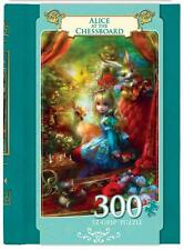 MASTERPIECES BOOK BOX PUZZLE ALICE AT THE CHESSBOARD SHU 300 PCS EZGRIP #31648