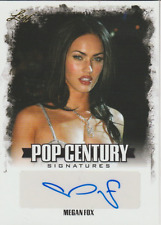 Megan Fox 2015 Leaf Pop Century autograph auto card BA-MF1