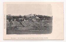 flavigny  vue de flavigny ,la maison d'éducation des ursulines  ,sud-est